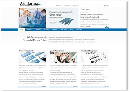 Web de Asinfarma