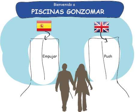 Entrada a Piscinas Gonzomar