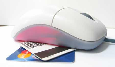 Tarjetas crédito en internet