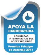 Premio Prínncipe de Asturias para el software libre