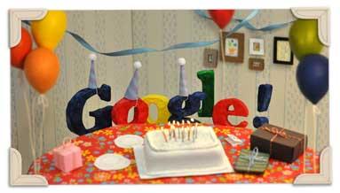 Google 13 aniversario