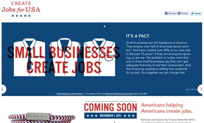 Create jobs for USA