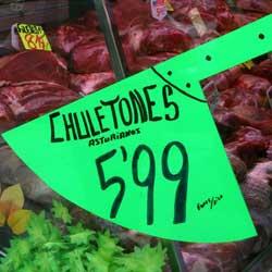 Chuletones asturianos
