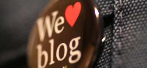 We blog