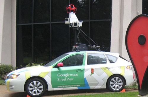 Coche de Google StreetView