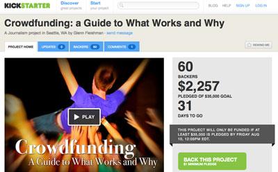 Crowdfunding en Kickstarter