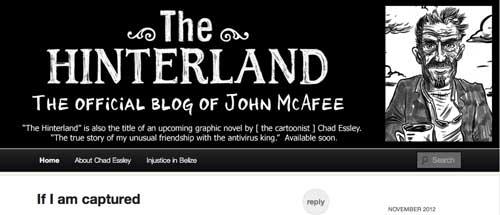 Blog de John McAfee