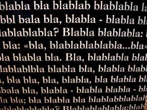 Bla, bla